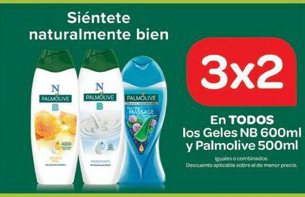 Oferta de En TODOS LOS GELES NB y Palmolive  por