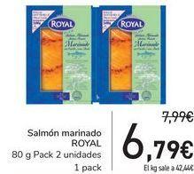 Oferta de Salmón marinado ROYAL por 6,79€