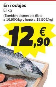 Oferta de Salmón En rodajas por 12,9€