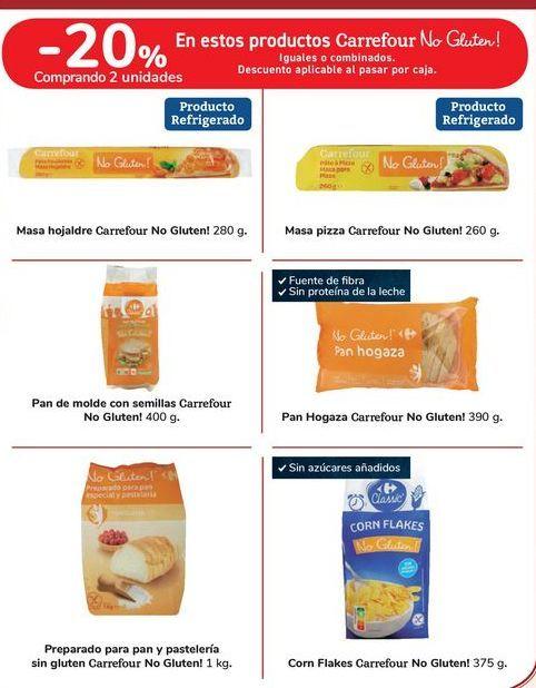 Oferta de En estos productos Carrefour No Gluten! por