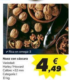 Oferta de Nuez con cáscara  por 4,49€