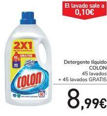 Oferta de Detergente líquido COLON por 8,99€