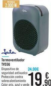 Oferta de Termoventilador TV55G Jata  por 19,9€