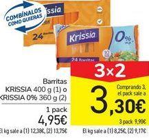 Oferta de Barritas KRISSIA o KRISSIA 0% por 4,95€