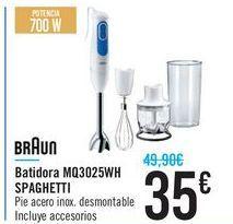 Oferta de Bartidora MQ3025WH SPAGHETTI BRAUN por 35€