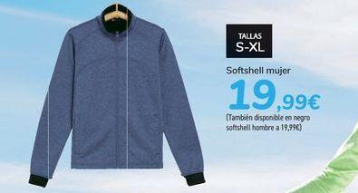 Oferta de Softshell mujer  por 19,99€