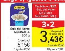 Oferta de Gula del norte AGUINAGA por 5,15€