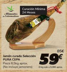 Oferta de Jamón curado Selección PURA CEPA por 59€