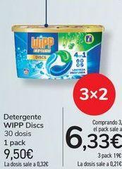Oferta de Detergente WIPP Discs por 9,5€