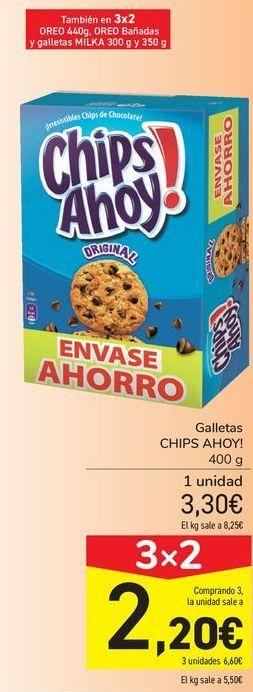 Oferta de Galletas CHIPS AHOY! por 3,3€
