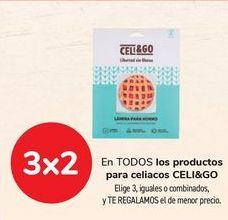 Oferta de En TODOS los productos para celiacos CELI&GO por