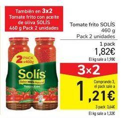 Oferta de Tomate frito SOLÍS por 1,82€