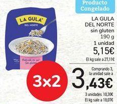 Oferta de LA GULA DEL NORTE sin gluten  por 5,15€