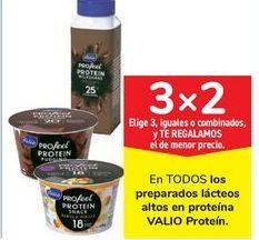 Oferta de En TODOS los preparados lácteos altos en proteína VALIO Proteín por