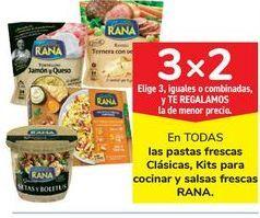 Oferta de En TODAS las pastas frescas Clásicas, Kits para cocinar y salsas frescas RANA por