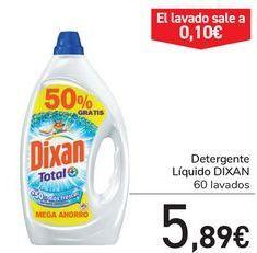 Oferta de Detergente líquido DIXAN  por 5,89€