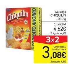 Oferta de Galletas CHIQUILÍN por 4,62€