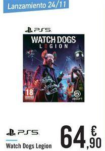 Oferta de Watch Dogs Legion por 64,9€