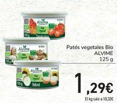Oferta de Patés vegetales Bio ALVIME por 1,29€