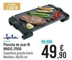 Oferta de Plancha de asar M MAGIC JT950 Jata  por 49,9€