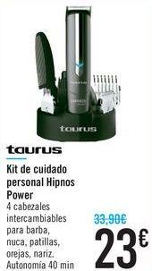 Oferta de Kit de cuidado personal Hipnos Power Taurus  por 23€