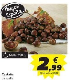 Oferta de Castaña por 2,99€