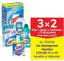 Oferta de En TODOS los detergentes líquidos COLON  por