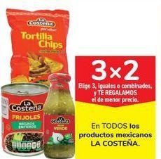Oferta de En TODOS los productos mexicanos LA COSTEÑA por