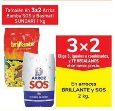 Oferta de En arroces BRILLANTE y SOS por