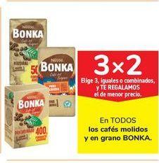 Oferta de En TODOS los cafés molidos y en grano BONKA por