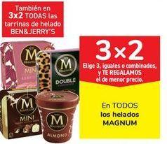 Oferta de En TODOS los helados MAGNUM por