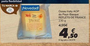 Oferta de Ossau Iraty AOP du Pays-Basque REFLETS DE FRANCE por 4,5€
