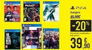 Oferta de Juegos  por 39,9€