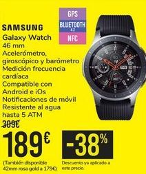 Oferta de Galaxy Watch SAMSUNG por 189€