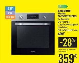 Oferta de Horno NV68R3370RS SAMSUNG por 359€