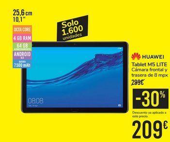 Oferta de Tablet M5 LITE HUAWEI por 209€