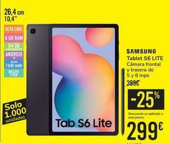 Oferta de Tablet S6 LITE SAMSUNG por 299€