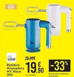 Oferta de Batidora Amasadora MY Wave  por 19,9€