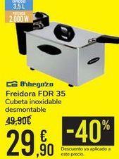 Oferta de Freidora Orbegozo FDR 35  por 29,9€