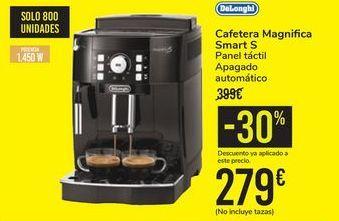 Oferta de Cafetera Magnifica Smart S DeLonghi por 279€
