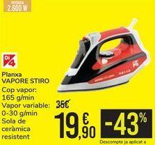 Oferta de Plancha VAPORE STIRO  por 19,9€