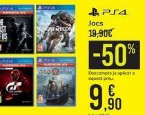 Oferta de Juegos  por 9,9€
