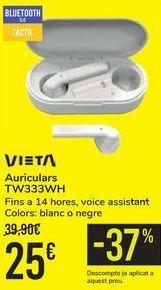 Oferta de Auricular TW333WH VIETA por 25€