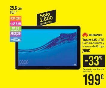 Oferta de Tablet M5 LITE HUAWEI por 199€
