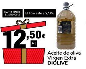 Oferta de Aceite de oliva Virgen Extra DIOLIVE por 12,5€