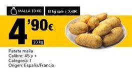 Oferta de Patata malla por 4,9€
