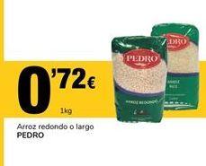 Oferta de Arroz redondo o largo PEDRO por 0,72€