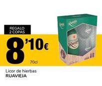 Oferta de Licor de hierbas RUAVIEJA por 8,1€