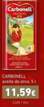 Oferta de Aceite de oliva Carbonell por 11,59€