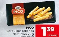 Oferta de Barquillos rellenos por 1,39€